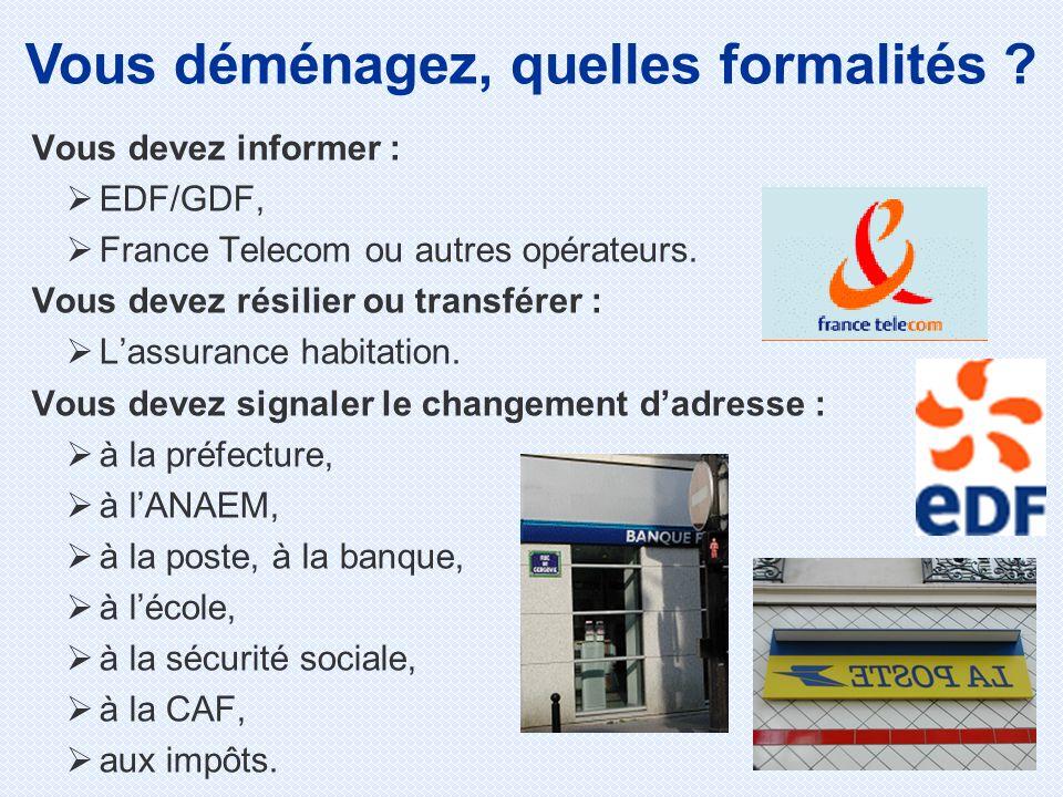 Comment Informer La Caf D Un Changement D Adresse