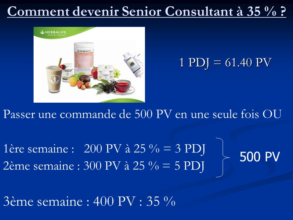 Comment devenir Senior Consultant à 35 %