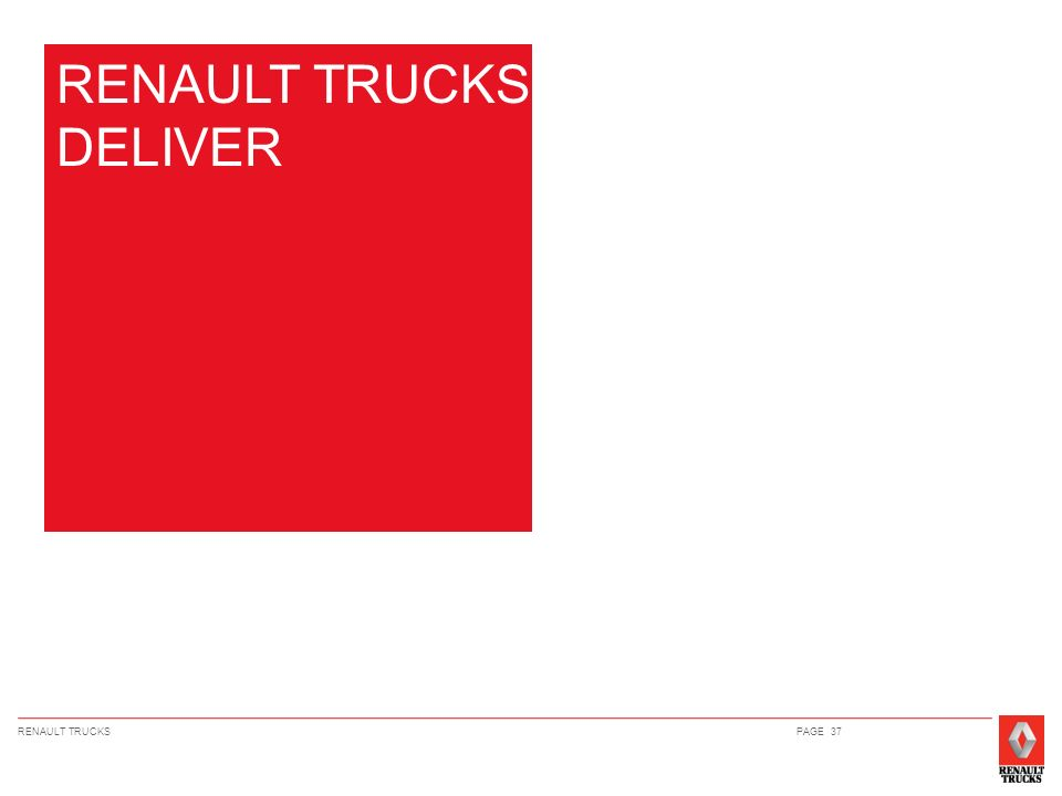RENAULT TRUCKS DELIVER