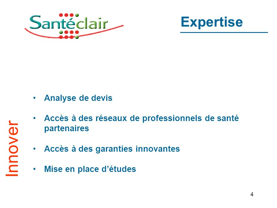 Innover Expertise Analyse de devis