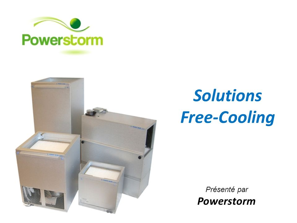 Solutions Free-Cooling