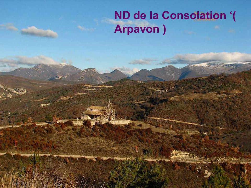 ND de la Consolation '( Arpavon )