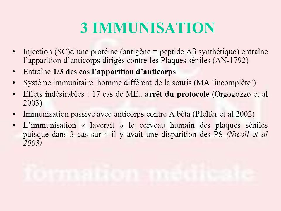 Drs S.LOTTON & R.THIRION Drs S.LOTTON & R.THIRION. 3 IMMUNISATION.