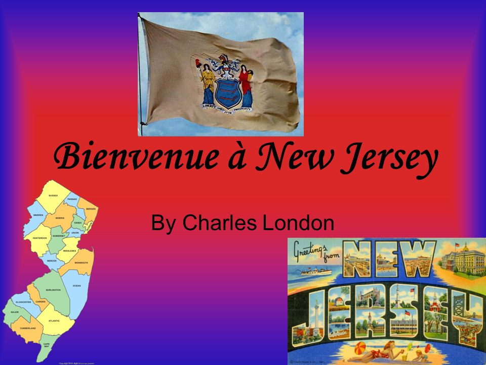 Bienvenue à New Jersey By Charles London