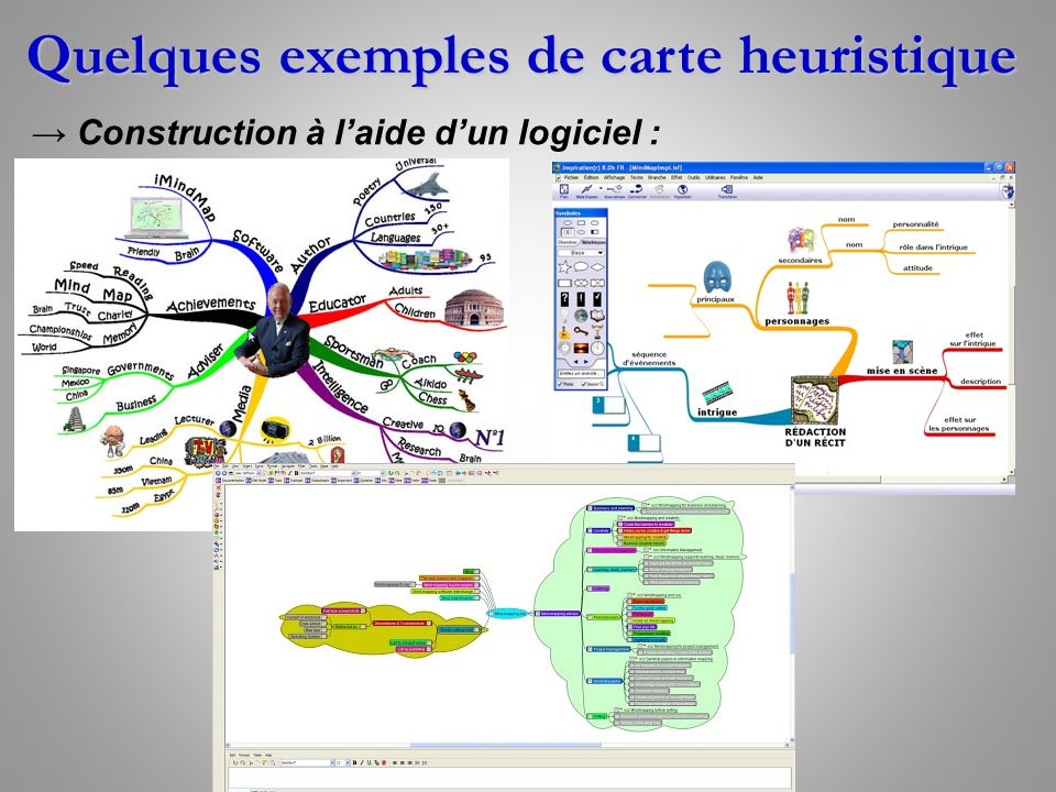 carte heuristique  carte mentale ou mind mapping  en anglais