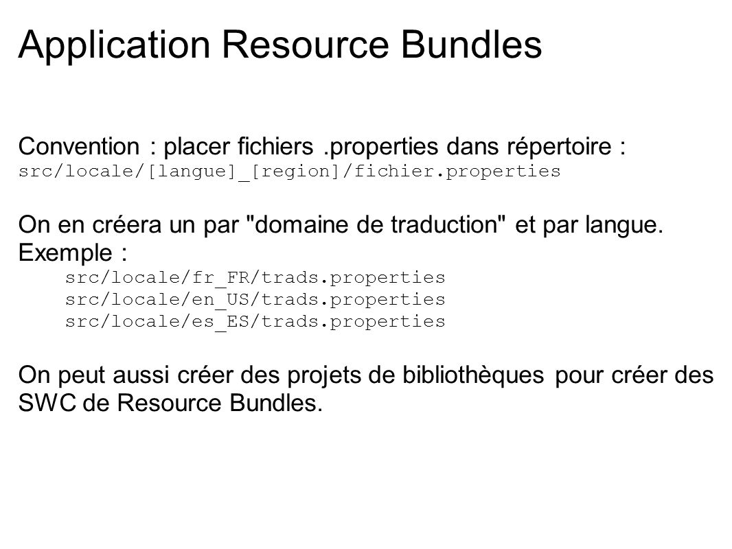 Application Resource Bundles