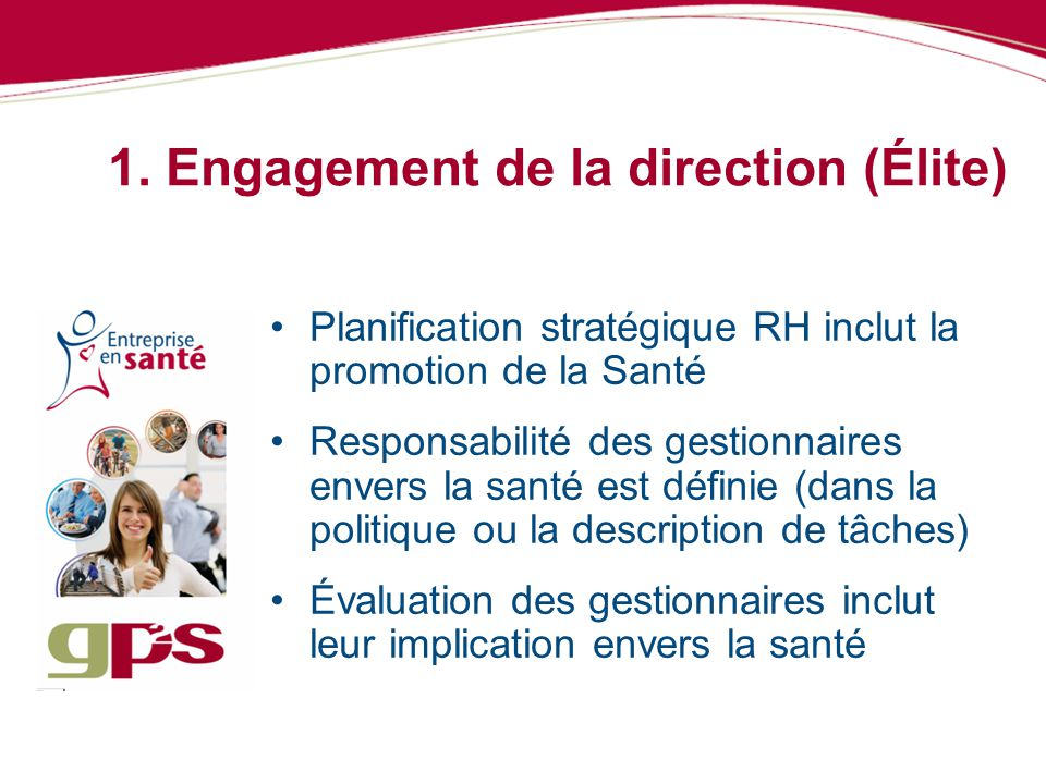 1. Engagement de la direction (Élite)