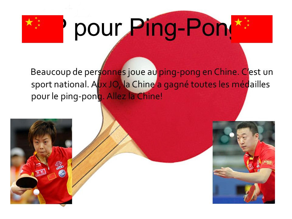 P pour Ping-Pong