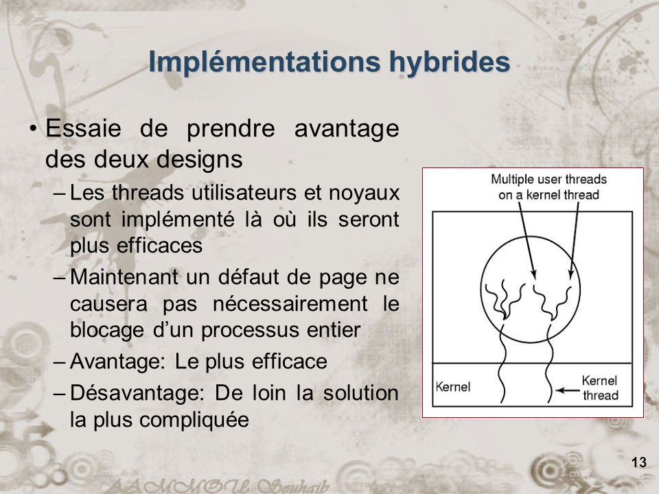 Implémentations hybrides
