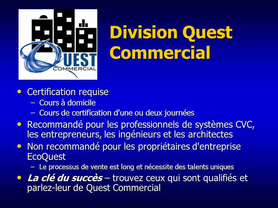 Division Quest Commercial