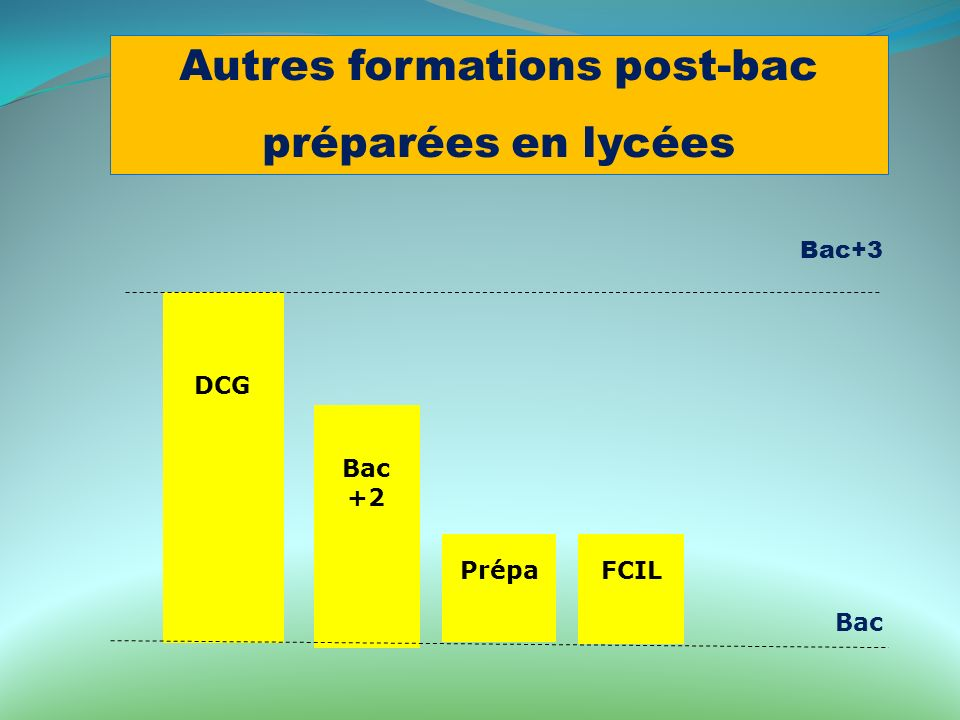 Autres formations post-bac