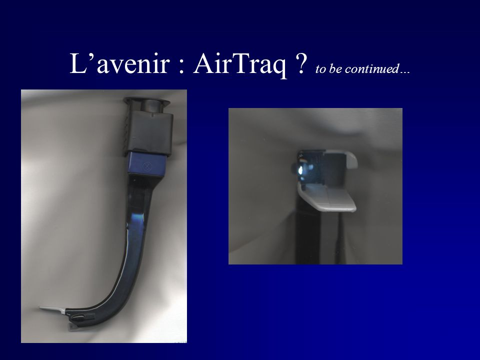 L'avenir : AirTraq to be continued…