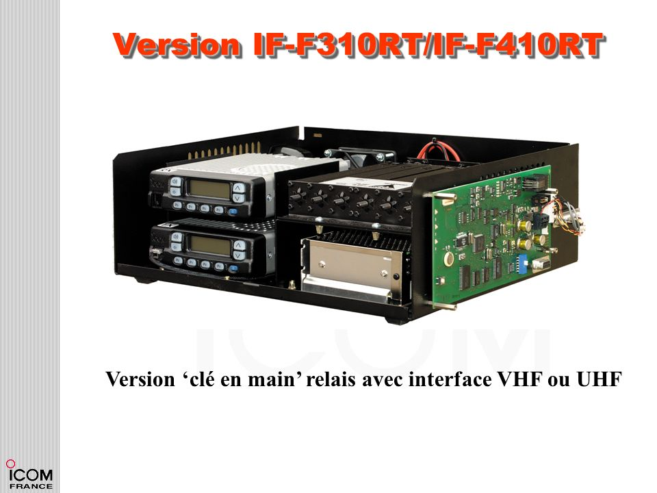 Version IF-F310RT/IF-F410RT