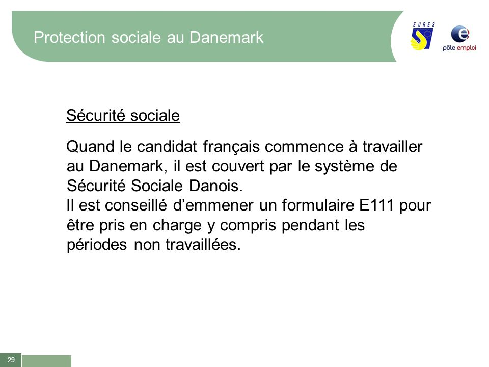Protection sociale au Danemark