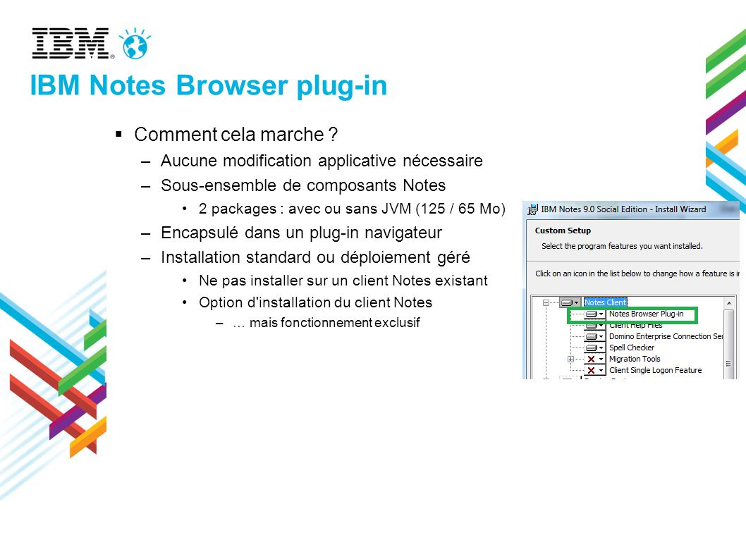 IBM Notes Browser plug-in