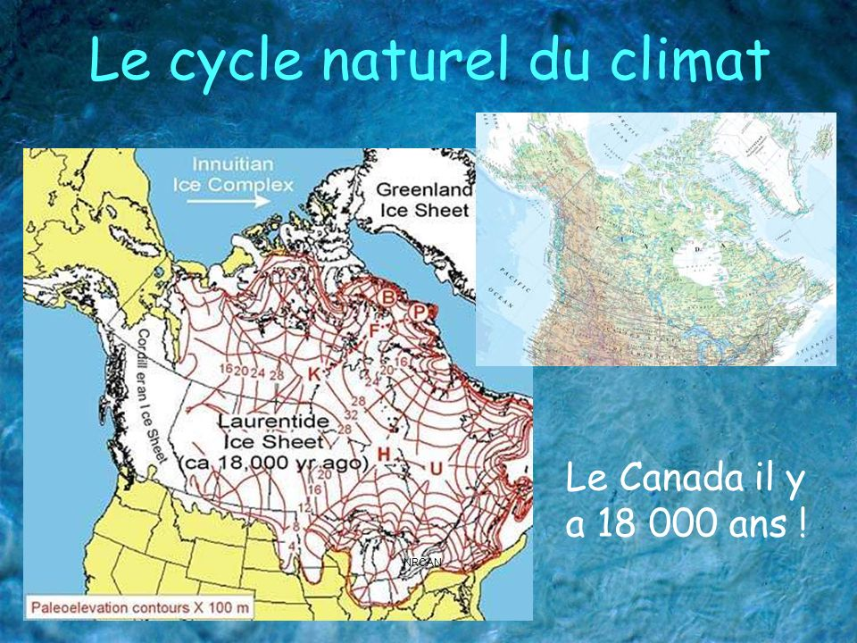 Le cycle naturel du climat