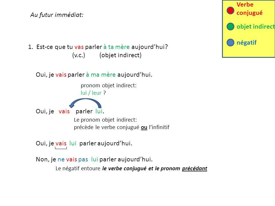 La Regle Les Pronoms Precedent Le Verbe Conjugue 1 Ou L Infinitif Ppt Telecharger