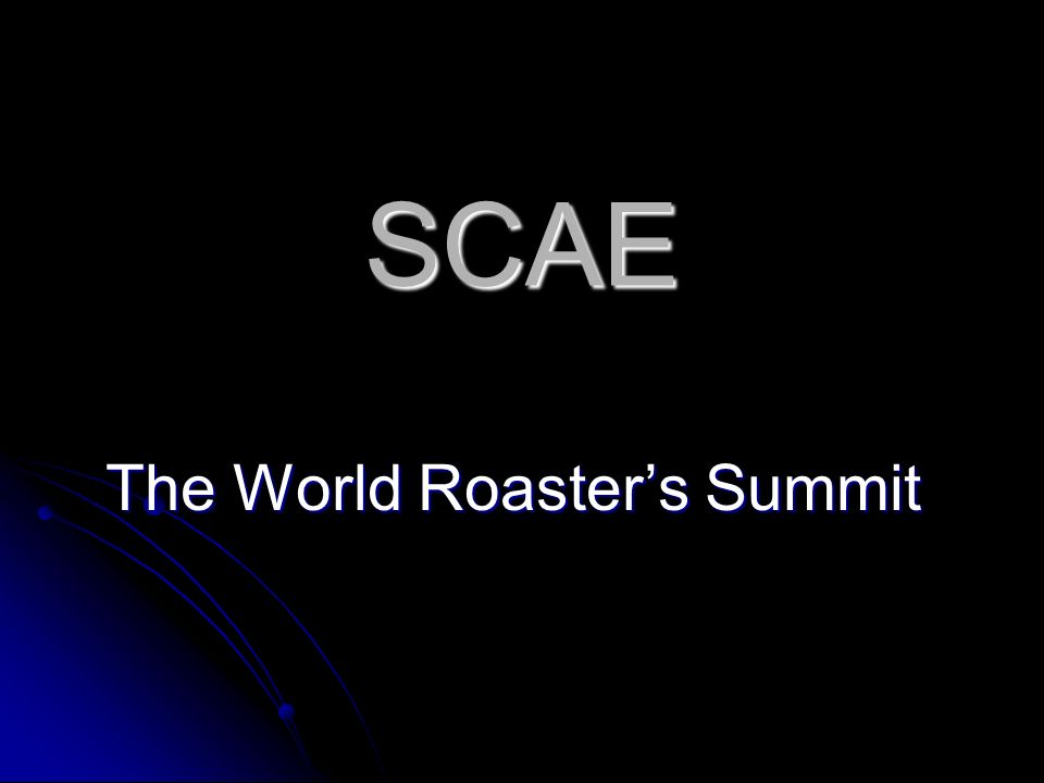 The World Roaster's Summit
