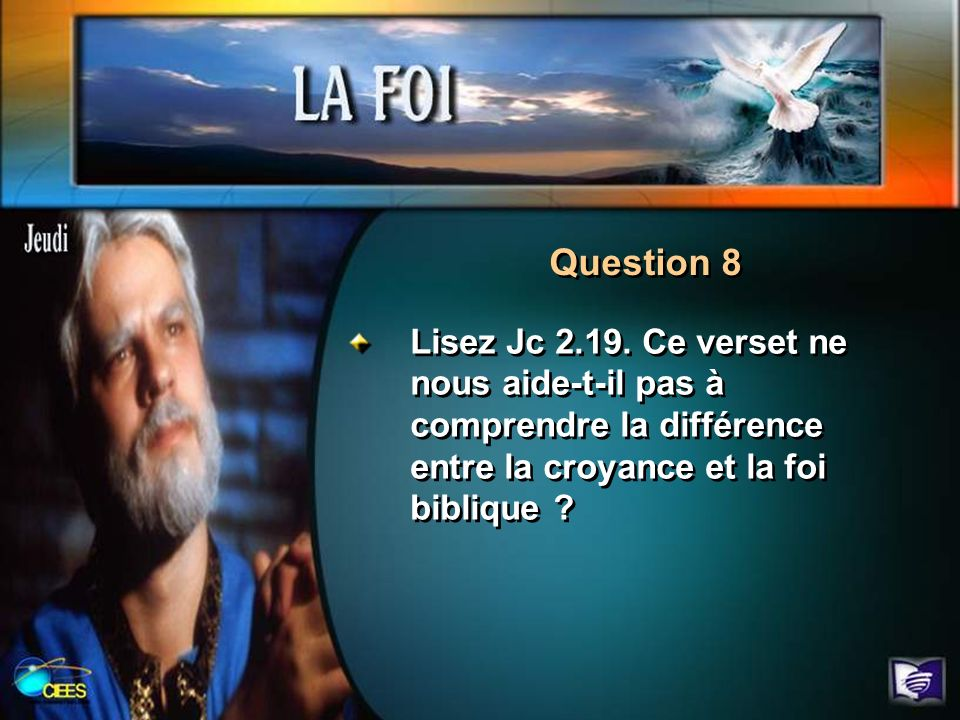 Question 8 Lisez Jc 2.19.