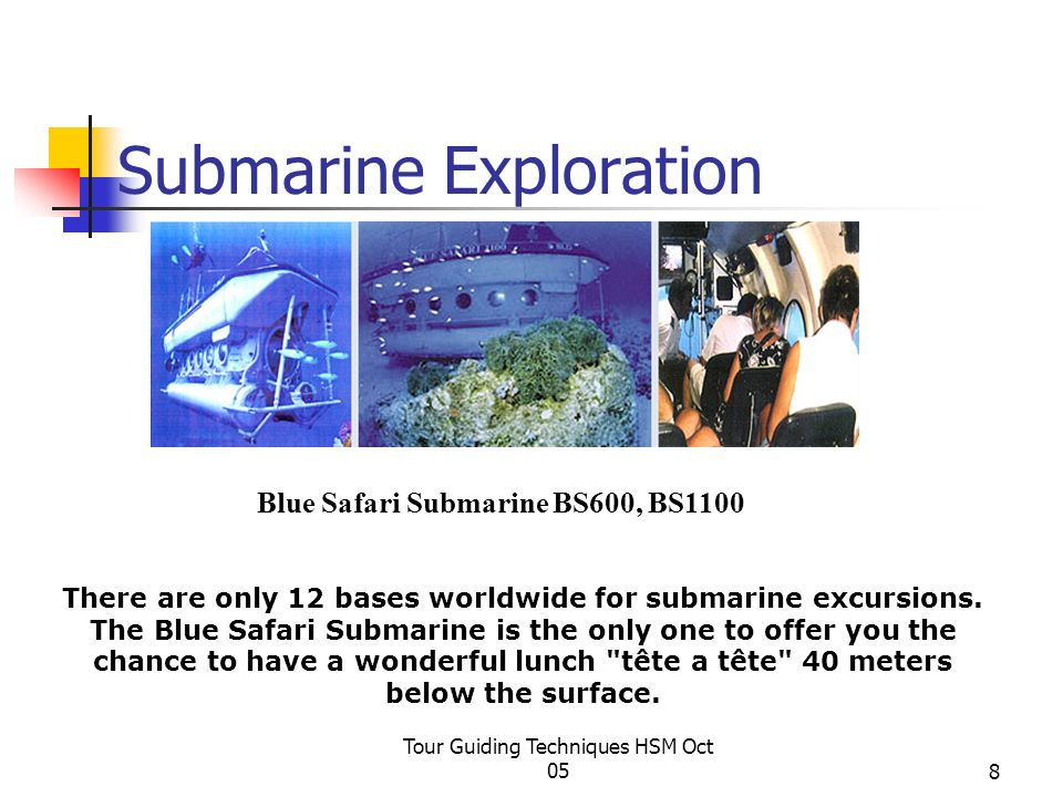 Submarine Exploration