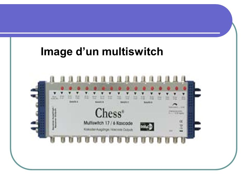 Image d'un multiswitch