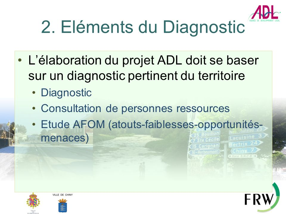 2. Eléments du Diagnostic