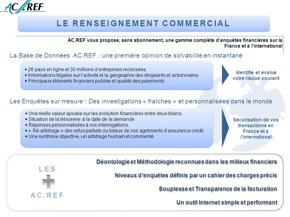 LE RENSEIGNEMENT COMMERCIAL
