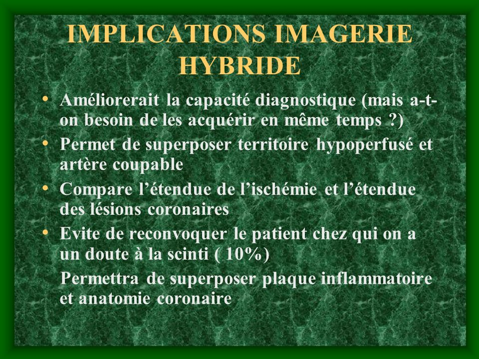 IMPLICATIONS IMAGERIE HYBRIDE