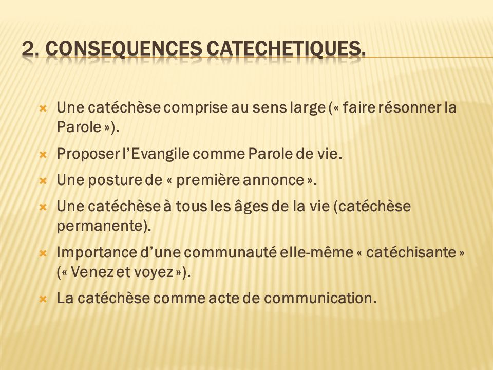 2. consequences catechetiques.