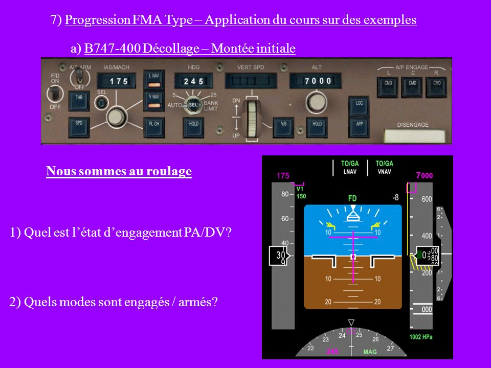 7) Progression FMA Type – Application du cours sur des exemples