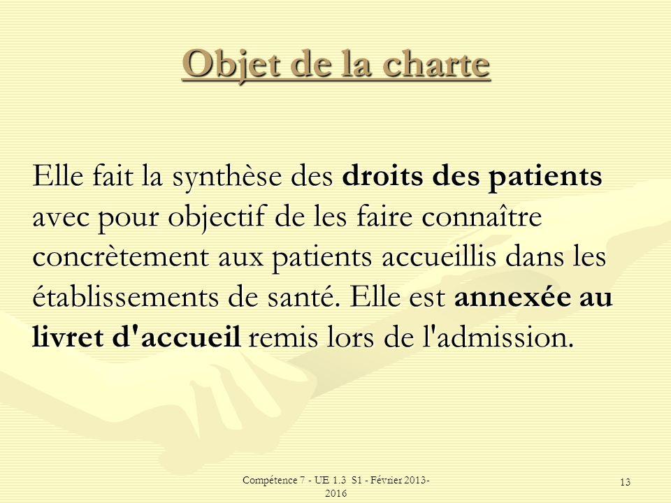 charte de la personne hospitalis u00e9e
