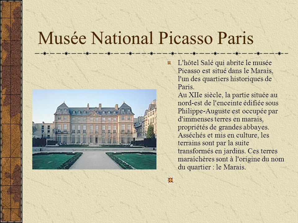 Musée National Picasso Paris