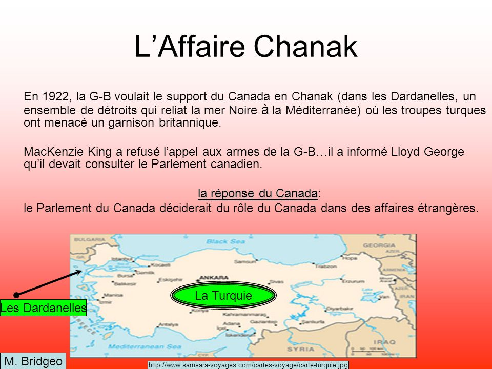 L'Affaire Chanak
