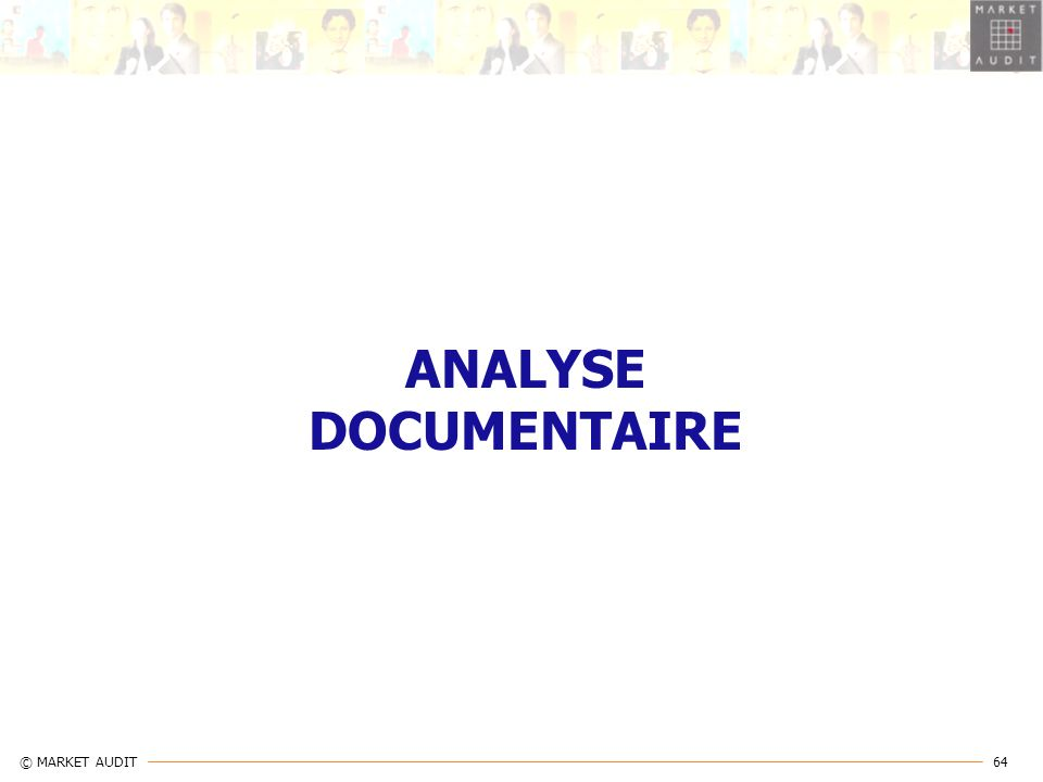 ANALYSE DOCUMENTAIRE