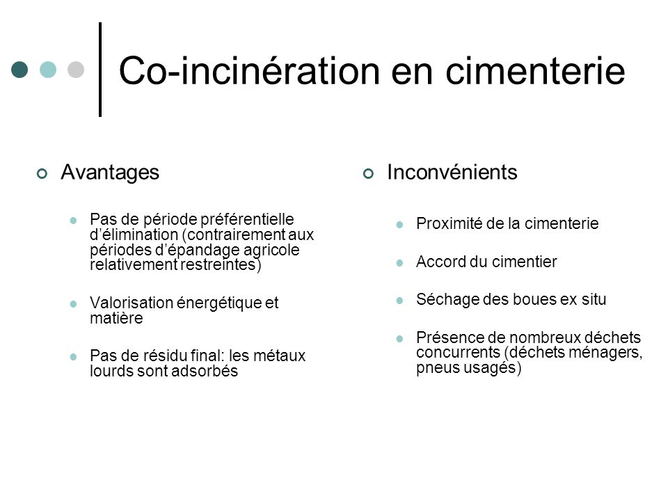 Co-incinération en cimenterie