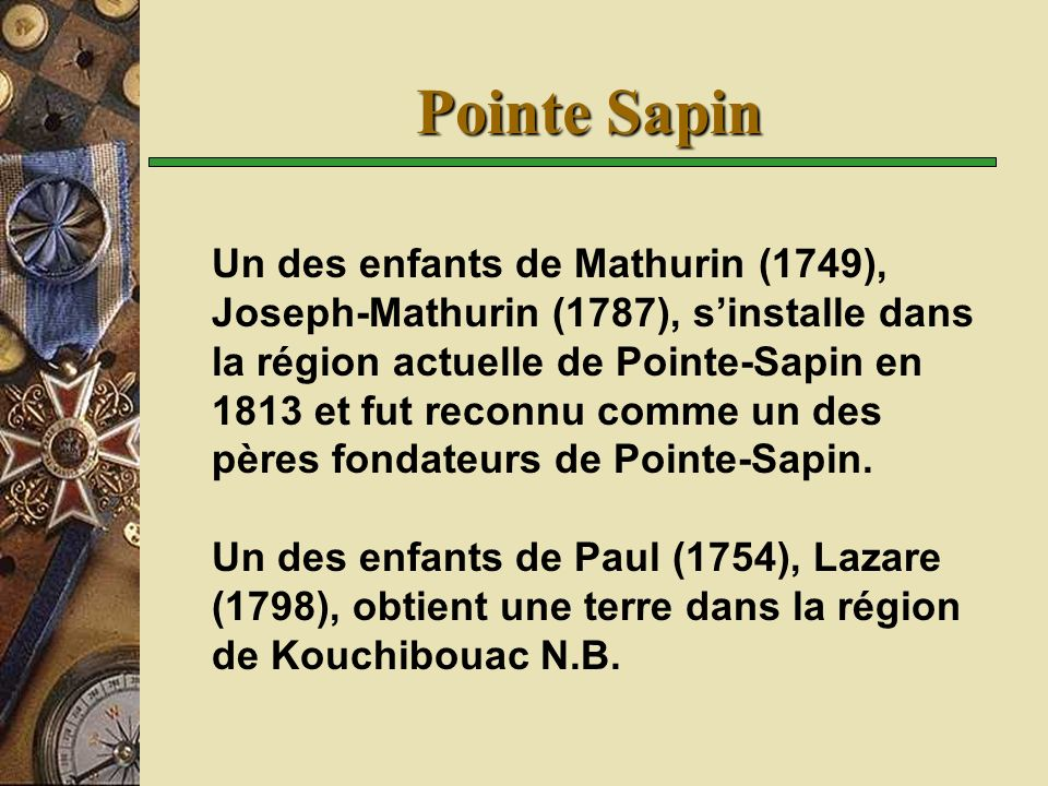 Pointe Sapin