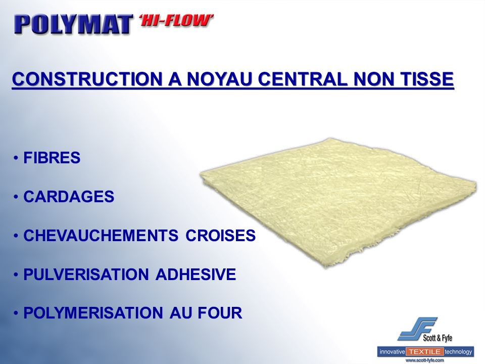CONSTRUCTION A NOYAU CENTRAL NON TISSE