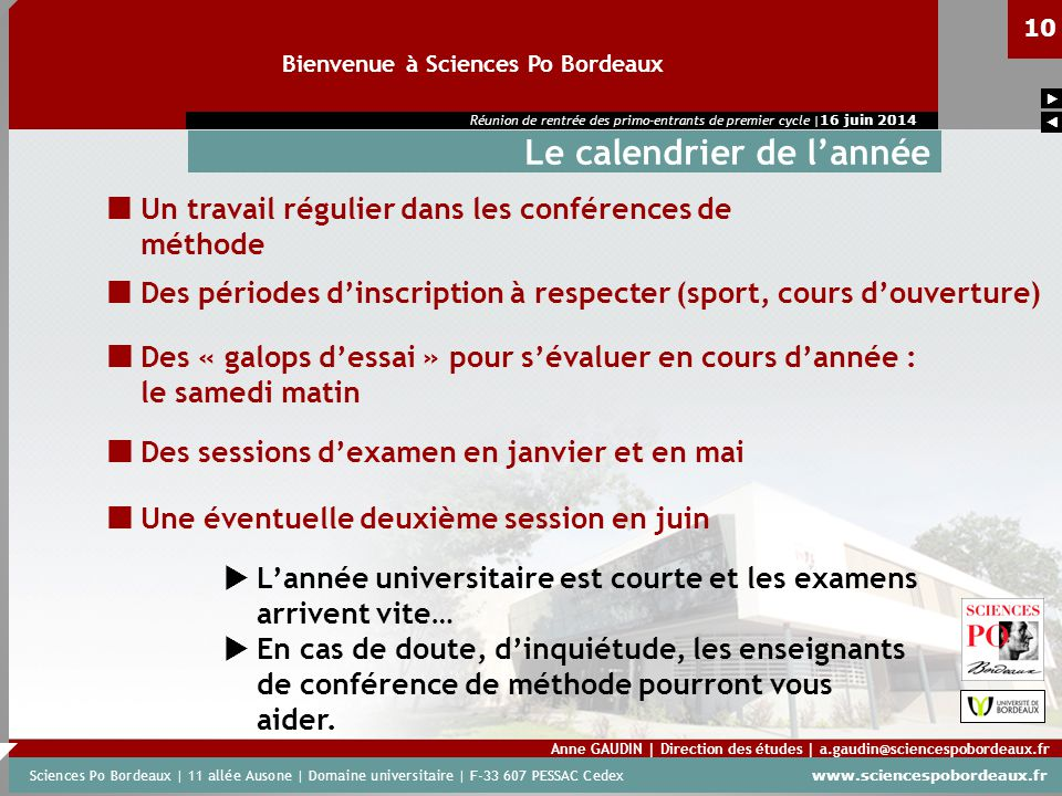 Sciences Po Calendrier Universitaire.Calendrier Scolaire Sciences Po