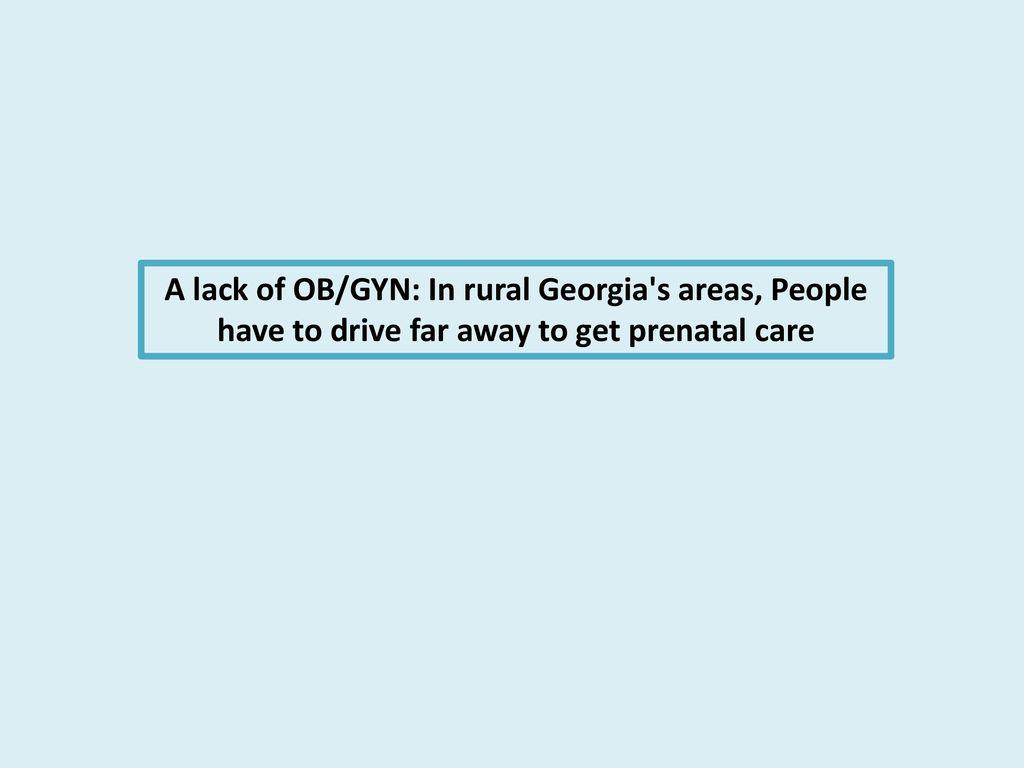 Rencontre un résident OB GYN