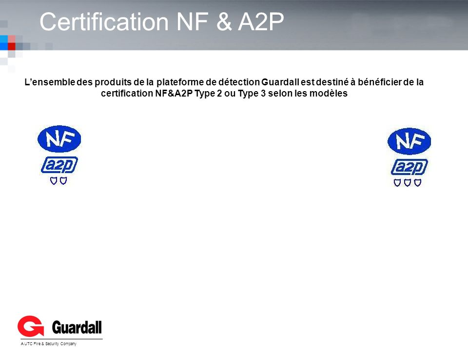 Certification NF & A2P