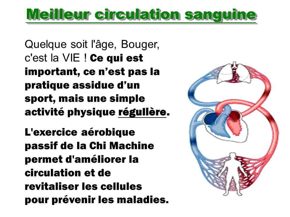 Meilleur circulation sanguine