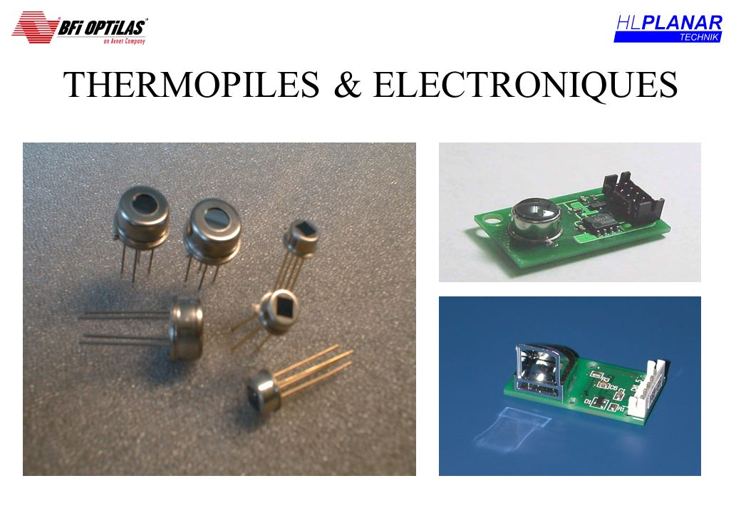 THERMOPILES & ELECTRONIQUES