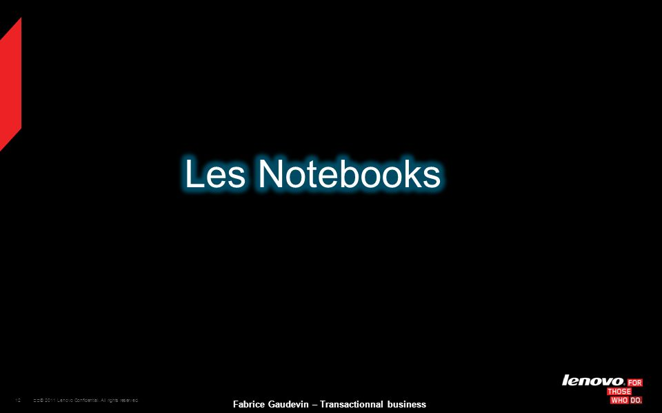 Les Notebooks
