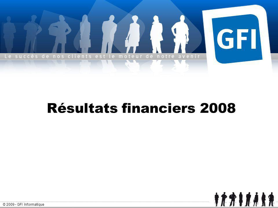 25 mars 2017 Résultats financiers 2008 © GFI Informatique