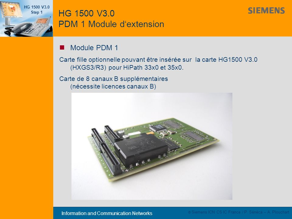 HG 1500 V3.0 PDM 1 Module d'extension