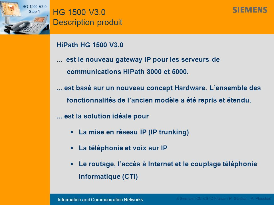 HG 1500 V3.0 Description produit