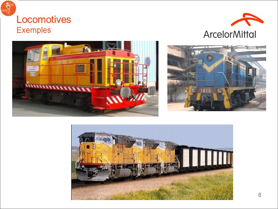 Locomotives Exemples