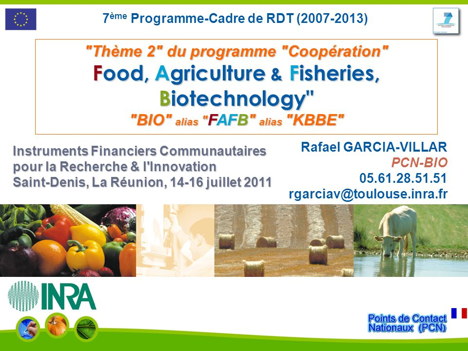 Food, Agriculture & Fisheries, Biotechnology