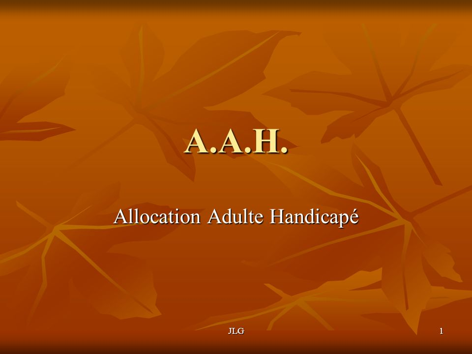 Allocation Adulte Handicapé