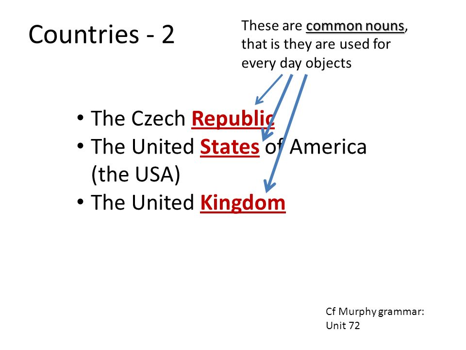 Countries - 2 The Czech Republic